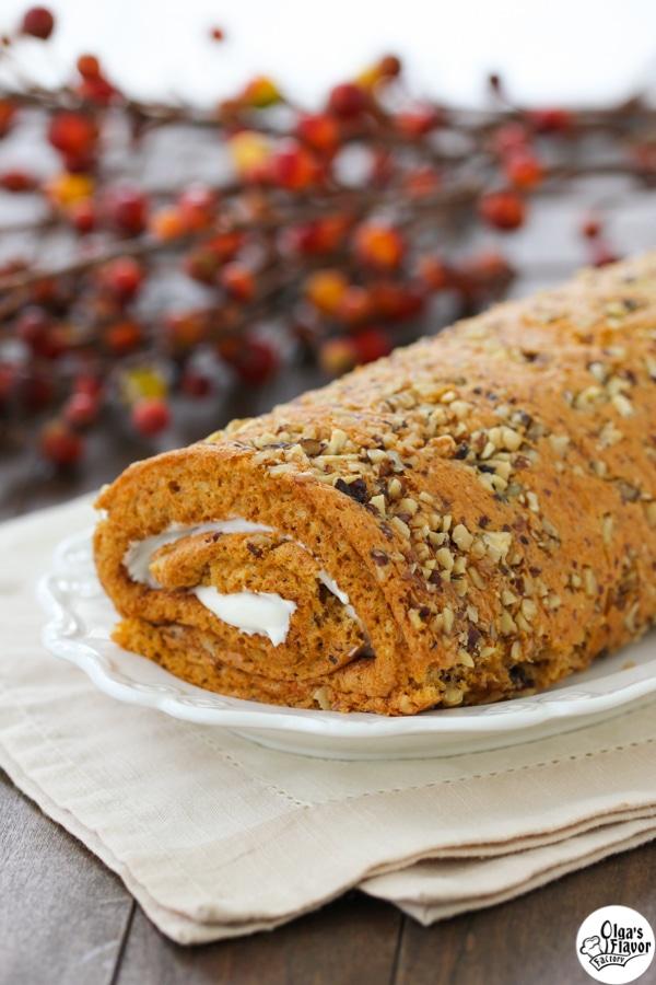 Butternuts Squash Cake Roll-1-20