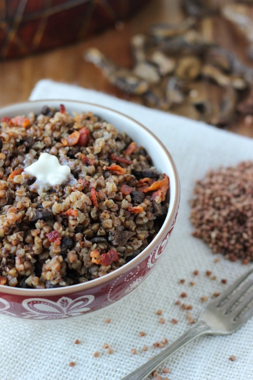 Buckwheat Kasha With Mushrooms-1-6
