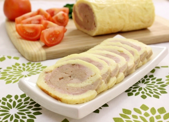 Cheesy Chicken Roulade