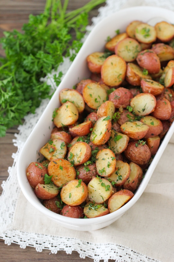 Garlic and Herb Roasted Potatoes-1-10