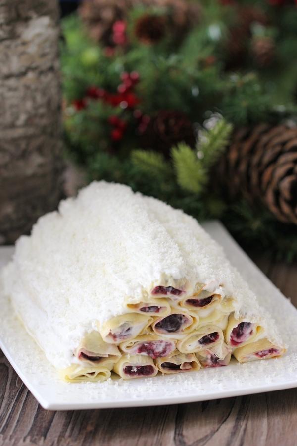 Cherry Crepe Cake-1-31