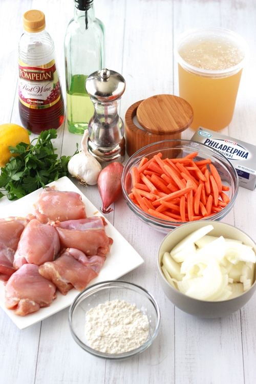 Rustic Chicken With Carrots and Onions-1