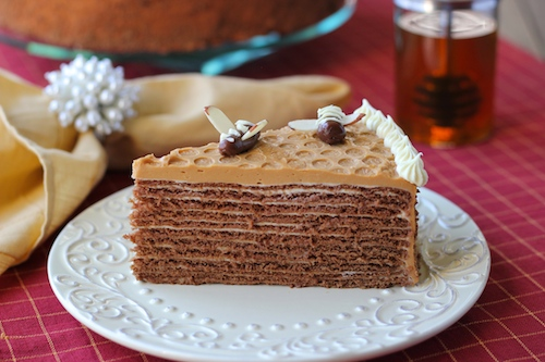 Spartak Chocolate Honey Layer Cake 2 Copy