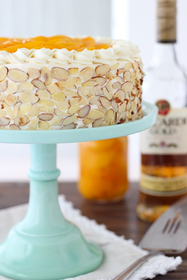 Italian Rum and Peaches Cake -1-12