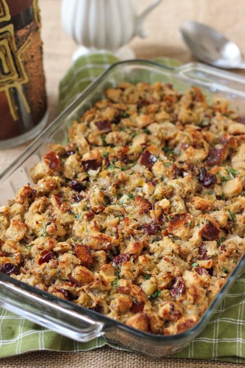 Thanksgiving Challah Herb Dressing-1-4