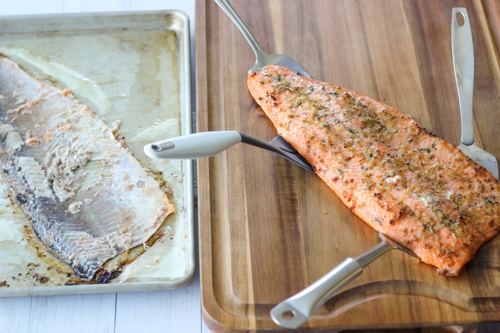 Baked Steelhead Trout Fillet-1-12