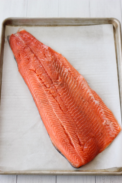 Baked Steelhead Trout Fillet-1-4