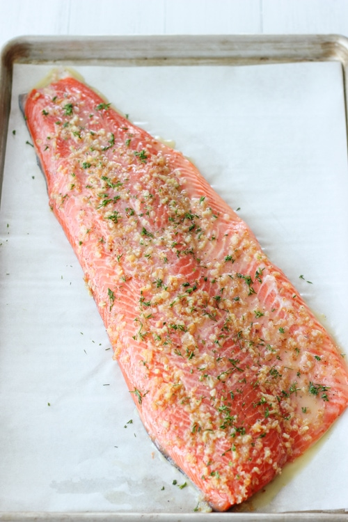 Baked Steelhead Trout Fillet-1-8