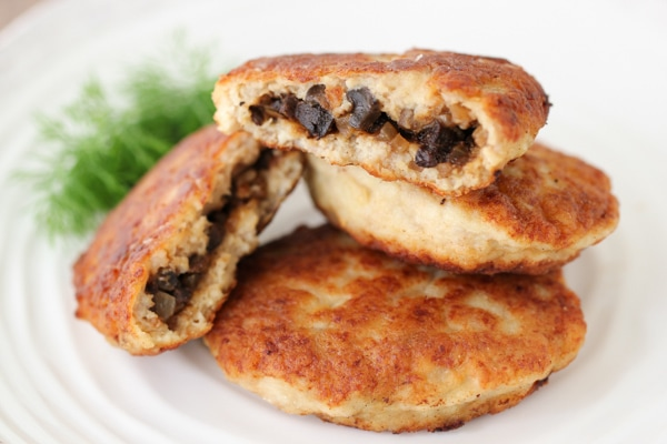 Chicken Kotleti With Mushrooms-14
