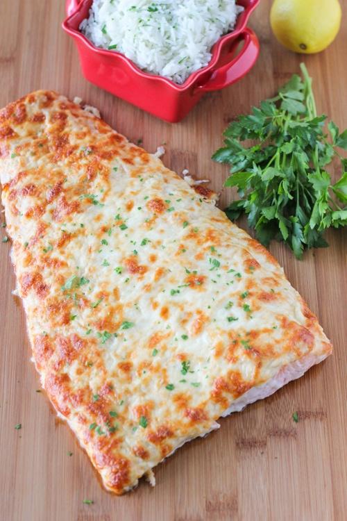 Cheesy Baked Salmon-1-7