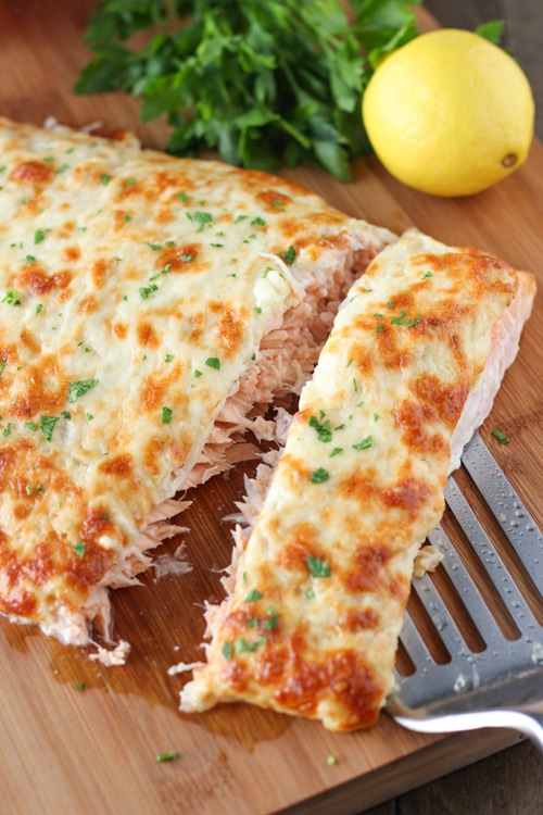 Cheesy Baked Salmon-1-8