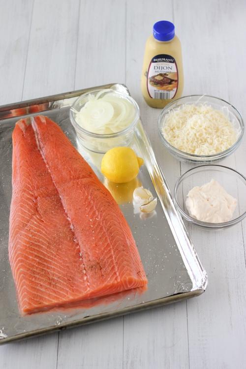 Cheesy Baked Salmon-1