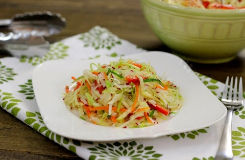 Vitamin Cabbage Vegetable Salad (500x327)