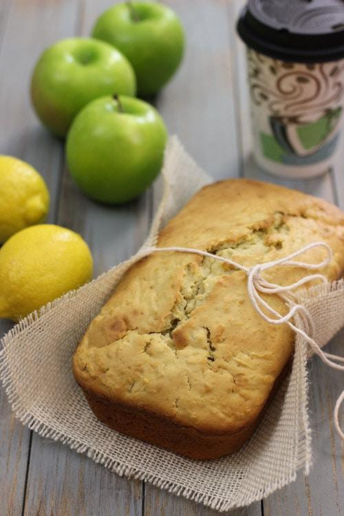 Apple Lemon Loaf-1-2