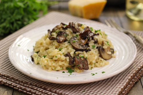 Mushroom Risotto-1-4