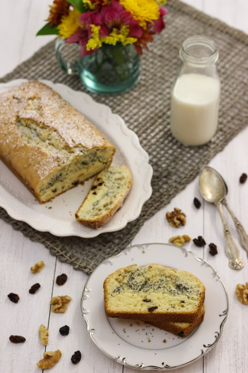 Raisin, Poppy Seed and Nut Loaf-1-22