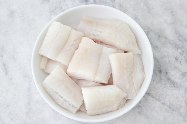 white fish fillets - cod