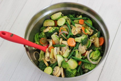 Balsamic and Soy Glazed Vegetable Medley-1-6