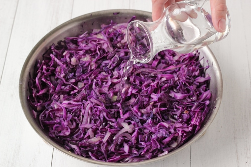 Braised Sweet and Sour Purple Cabbage-1-5
