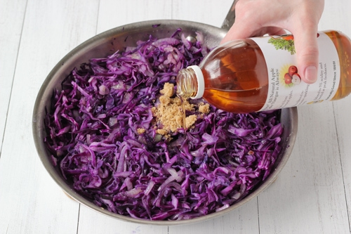 Braised Sweet and Sour Purple Cabbage-1-7