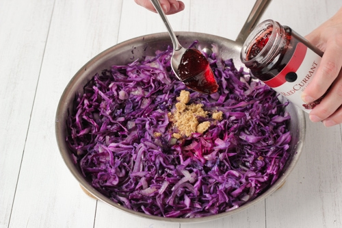 Braised Sweet and Sour Purple Cabbage-1-8