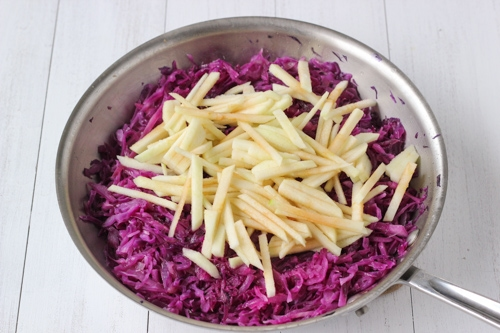 Braised Sweet and Sour Purple Cabbage-1-9