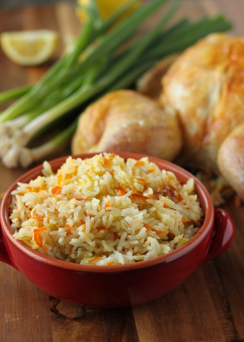 Butterflied Roast Chicken With Rice Stuffing-1-9