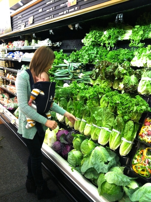 Buying lettuce whole is much cheaper than the bagged salad mixes.