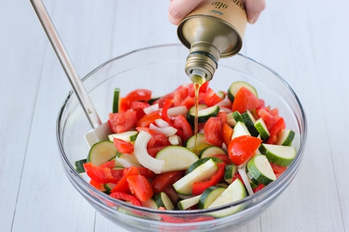 Roasted Zucchini, Tomatoes and Peppers-1-3
