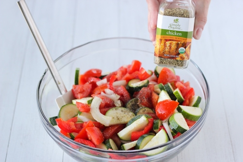 Roasted Zucchini, Tomatoes and Peppers-1-4