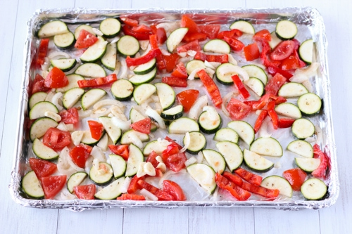 Roasted Zucchini, Tomatoes and Peppers-1-5