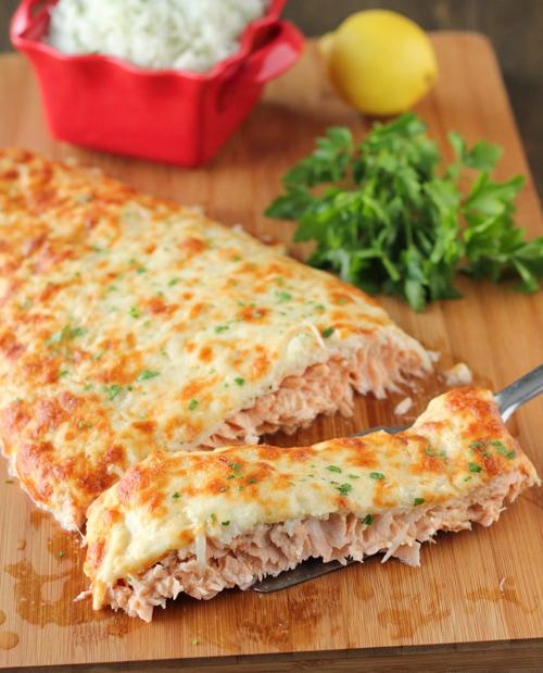 Cheesy Baked Salmon-1-11
