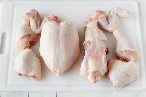 How To Cut Up a Whole Chicken-1-10