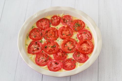 Zucchini and Tomato Frittata-1-10