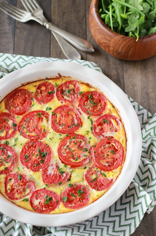 Zucchini and Tomato Frittata-1-19