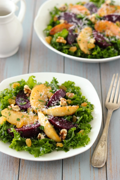 Kale Salad With Roasted Beets-1-10