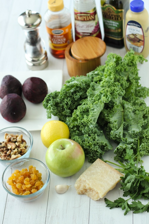 Kale Salad With Roasted Beets-1-2