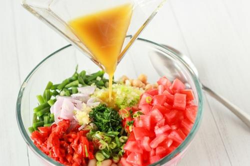 Three Bean and Tomato Salad-1-6