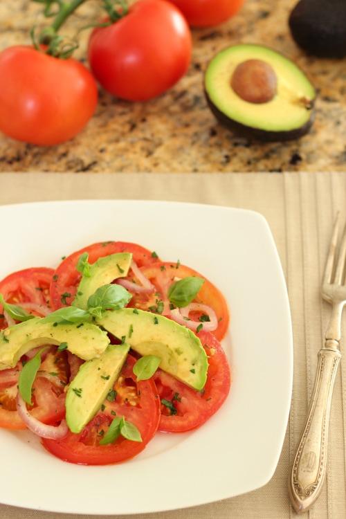 Tomato and Avocado Salad-1-14