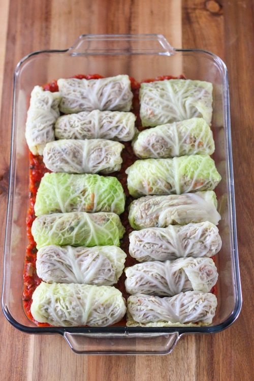 Mushroom and Buckwheat Cabbage Rolls-1-12