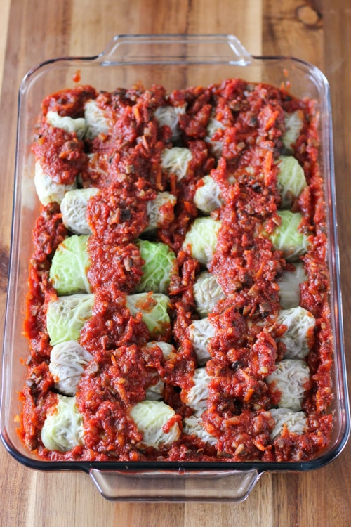 Mushroom and Buckwheat Cabbage Rolls-1-13