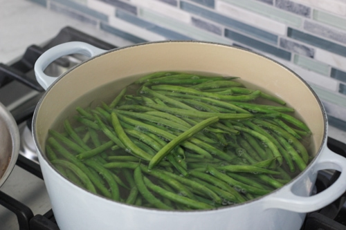 Green Beans With Mushrooms-1-4