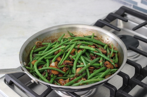 Green Beans With Mushrooms-1-9