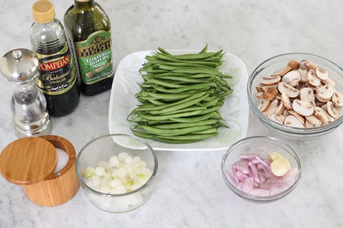Green Beans With Mushrooms-1