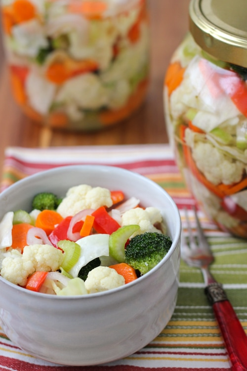 Marinated Assorted Vegetable Salad-1-12