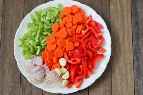 Marinated Assorted Vegetable Salad-1-4