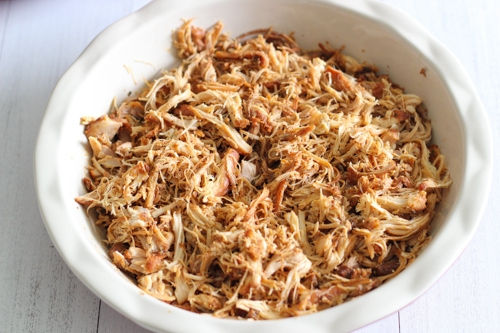 Slow Cooker BBQ Pulled Chicken-1-7