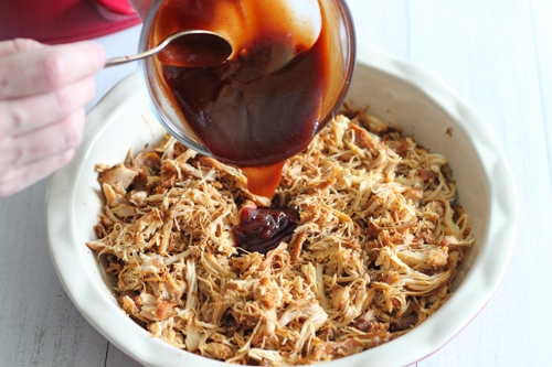 Slow Cooker BBQ Pulled Chicken-1-8