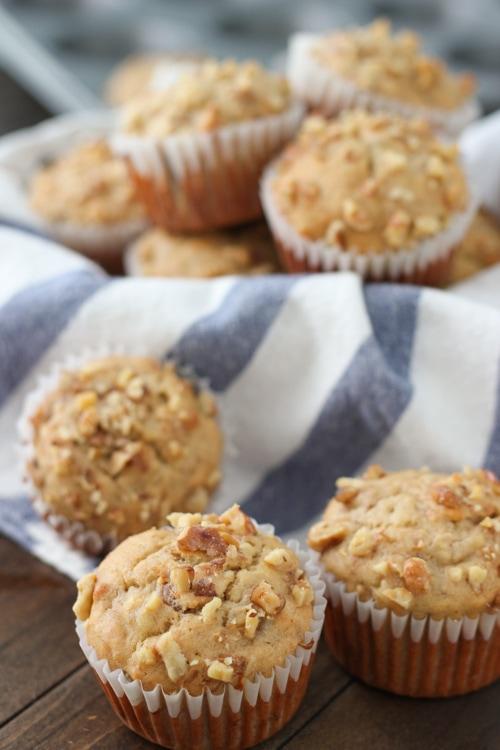 Banana Walnut Muffins-1-2