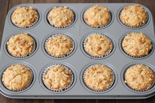 Banana Walnut Muffins-1-3